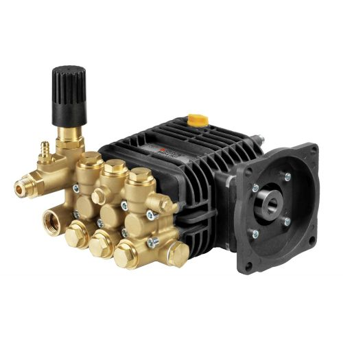 "Comet BWD-K Series Triplex Plunger Pumps with 5/8"" hollow shaft."