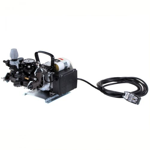 Electric Diaphragm Pump Comet MC25 with 115V motor.