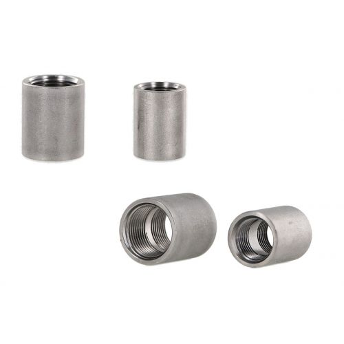 3/4 inch and 1/2 inch Couplers - plumbing components.