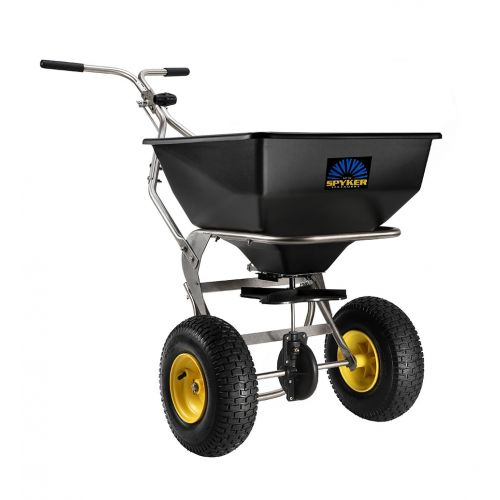 Enhance your lawn / turf spreading experience with this ergonomically designed professional spreader from Spyker.