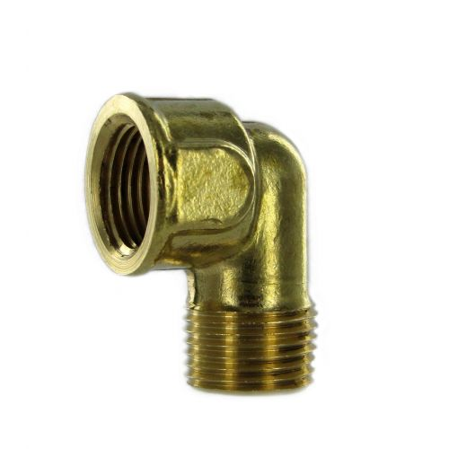 Extruded 90 Degree Street Elbow - Brass:  available in a range of sizes.