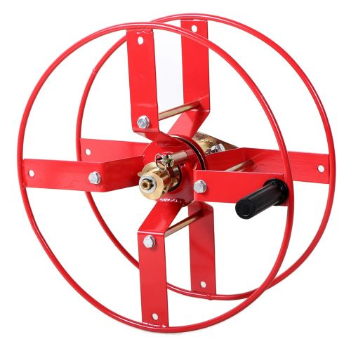 GB Style Spoked Manual Hose Reel:  A lightweight manual wind hose reel.