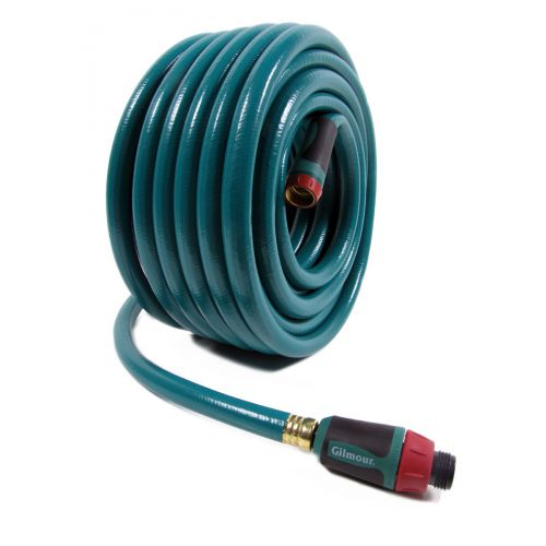 Gilmour 10-58080TNF Twist N' Flow Flexogen Hose measures 80 ft. in length.
