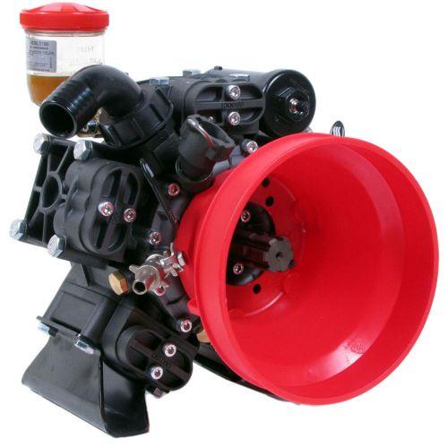 "Hypro Diaphragm Pump D1265, shown here with 1 3/8"" 6 spline male shaft extension."