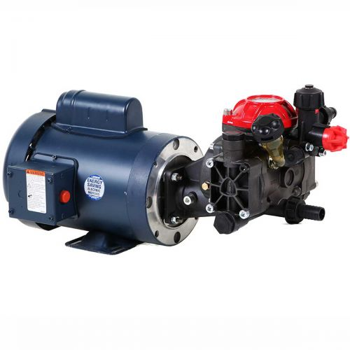 Hypro D252GRGI58 with 1.5 HP Leeson Electric Motor.