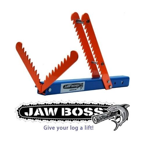 Jaw Boss - Hitch Receiver Attachment for Logs