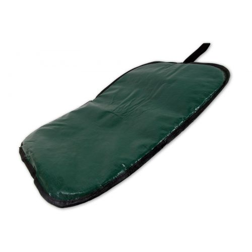 Extra thick well cushioned kneeling pad.