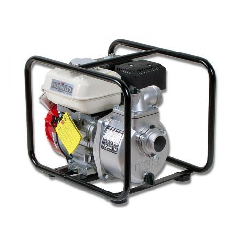 SEH-50X Koshin Water Pump coupled with a Honda GX120 gas engine.