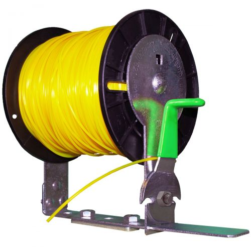 Keep your trimmer line spool secured in your trailer. Spool NOT included.