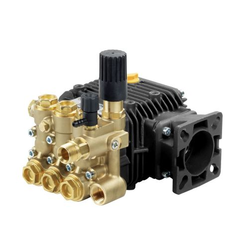 """Comet LWD-K Series Industrial Triplex Plunger Pumps with 3/4"""" hollow shaft."""