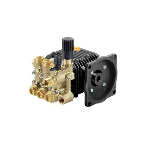 """Comet LWS-K Series Industrial Triplex Plunger Pumps with 5/8"""" hollow shaft."""