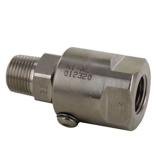 """Super Swivel # SS8MP50XFP50 has a straight style with a 1/2"""" MNPT by 1/2"""" FNPT thread size."""