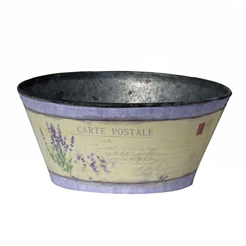 "This very stylish garden bowl is available in a 9"" x 4"" (medium) size."