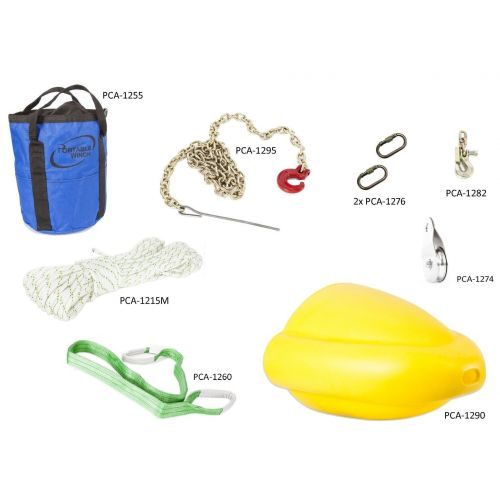 Portable Winch Forestry Accessories Kit PCA-1005.