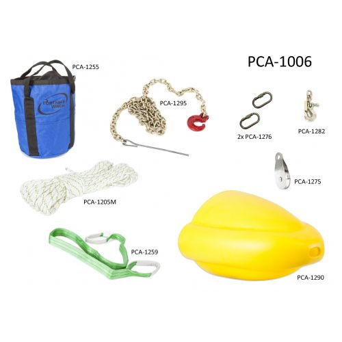 This is an essential kit for the Portable Winch PCW3000 if you plan on pulling heavy logs.