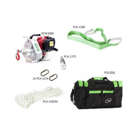 Portable Winch PCW3000-GK Garden and Cottage Kit.