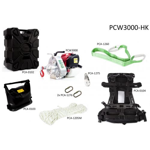 Portable Winch PCW3000-HK Hunting Assortment Kit.