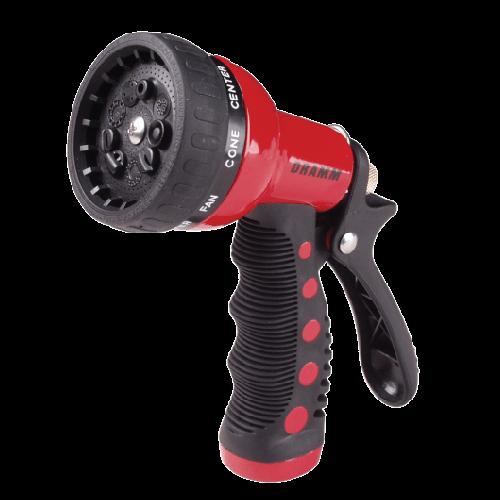 Red Dramm Touch 'N Flow Revolver Spray Gun.