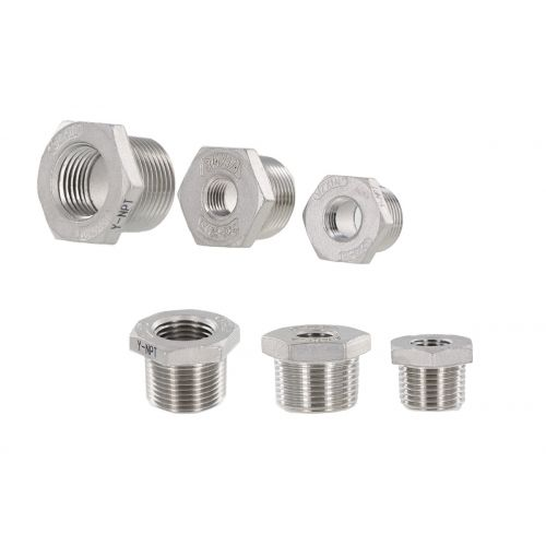 Stainless Steel Reducer Bushing - plumbing components.