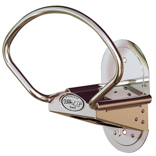 Dura-Loop Saddle Hose Hanger for both indoors and outside.