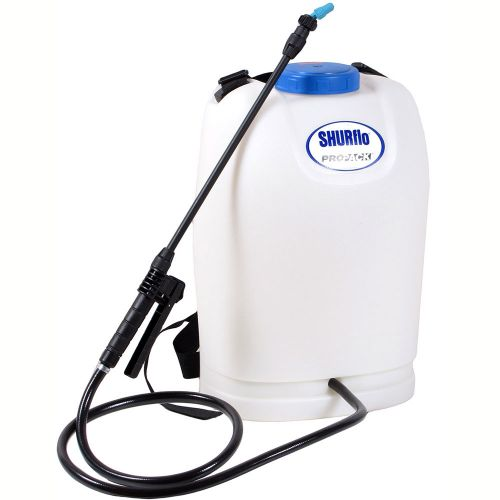 Electric backpack sprayer from Shurflo SRS-600.