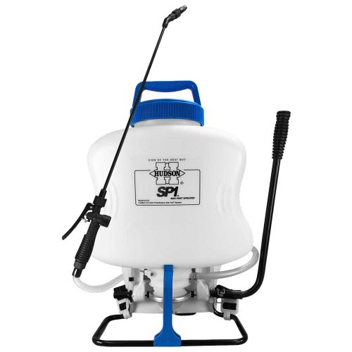 The Hudson SP1 is our number one selling backpack sprayer to professionals.  Excellent horticultural backpack sprayer.