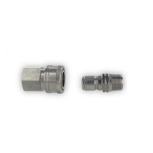 Stainless Socket & Plug.