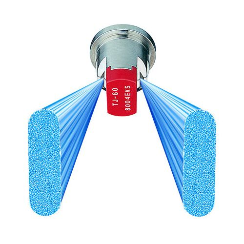 VisiFlo color coded Even Flat Fan Spray Tips by TeeJet. TJ60-8004EVS