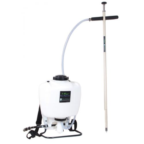Tree Root Injector 4 gallon backpack tank capacity.