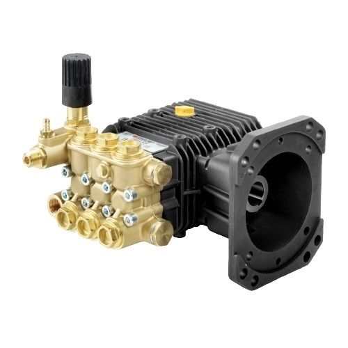 """Comet ZWD-K Series Industrial Triplex Plunger Pumps with 1"""" hollow shaft."""