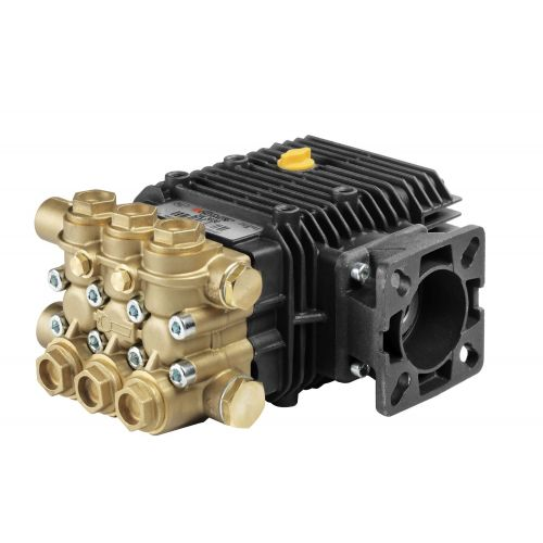 """Comet ZWD-2535G Industrial Triplex Plunger Pump with 3/4"""" hollow shaft."""